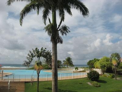 Vue en partie de la piscine