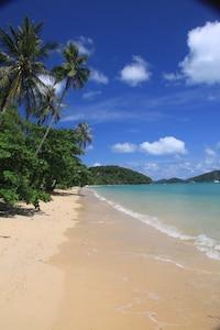 Beautiful beach at Waterside