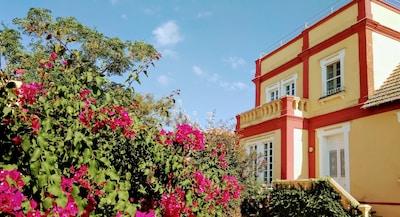 Villa en la playa, frente al Parque  Nacional de Doñana