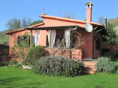 Casa Bella Vista Trevignano Romano Lago di Bracciano vista campagna