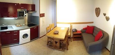 séjour cuisine