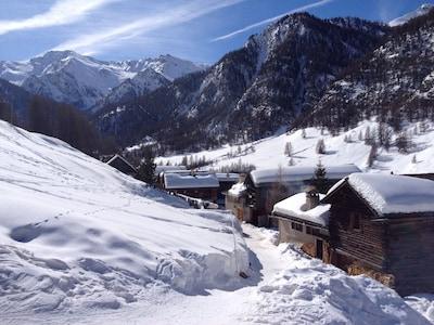 Saint-Véran, Hautes-Alpes, France