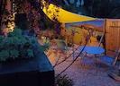 La terrasse basse la nuit