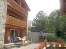 le chalet et sa terrasse