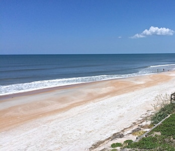 Our beach - gorgeous no crowds !