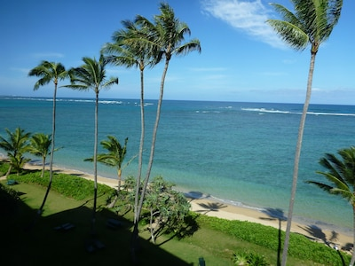 view north from lanai
