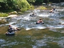 The Cartecay River - Great for family fun and tubing
