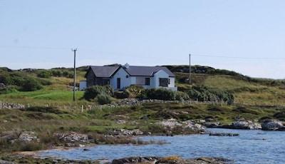 Mannin Bay Beach, Ballyconneely, Galway Provinz, Irland