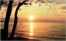 Romantic sunset over Lake Ontario  (view from master bedroom)