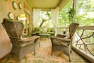 Relax, read a book, or entertain a crowd on this fabulous porch!