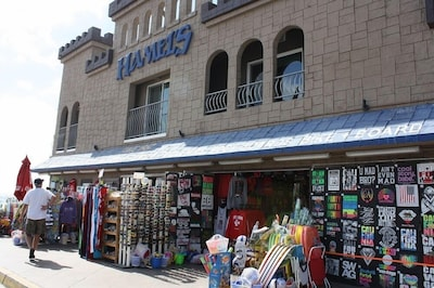 Apartment is above the retail store -entrance is located at the boardwalk