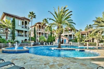 St. Tropez, Miramar Beach, Floride, États-Unis d'Amérique