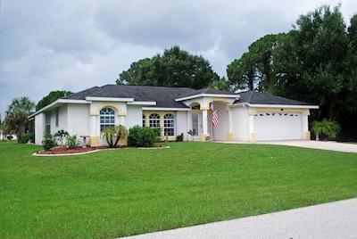 Long Meadow, Rotonda West, Floride, États-Unis d'Amérique
