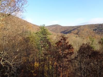Elk mountain view in November