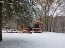 Cozy winter wonderland!