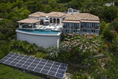 Eco solar power backup