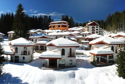 Pamporovo Ski Resort, Smolyan, Smolyan Province, Bulgaria