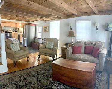 Open floor plan View of living room