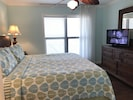 Master bedroom also includes cable television