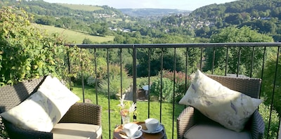 stunning views from all rooms & bedroom balcony