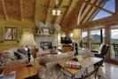 living area (gas fireplace)