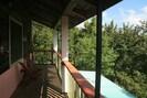 On the veranda - good spot for birding