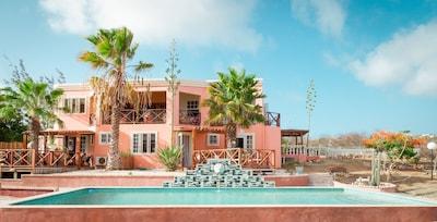 Villa over looking the Sea , Mount Brandaris and small Island - Klein Bonaire