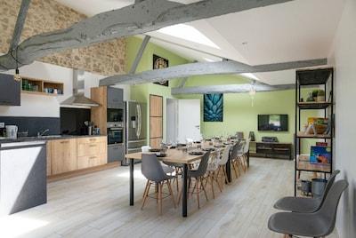 Grande cuisine de 50 m² !!!