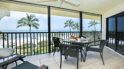 This is the view from the Lanai.  Imagine having cocktails and meals here.