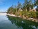 Perched on the west shore of Herron Island. February and the water is like glass