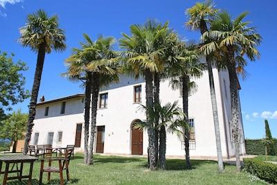 Appartamento perfetto per coppie in casa vacanze con piscina, parco, Wi-Fi e amache!