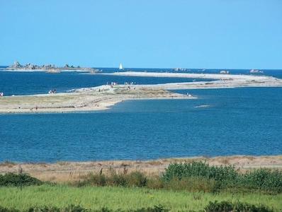 Sillon du talbert, site unique en europe, 3.5 km de long à 800m du gîte.