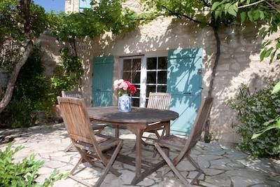 Terrasse sur séjour - coin repas