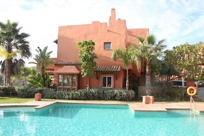 Villa con vistas al mar 5 pers - marroquí. Estilo - 230 m2 Marbella / Estepona / Sotogrande