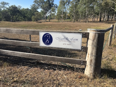Working horse property in the Hawkesbury Valley