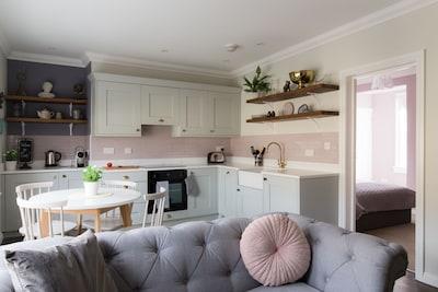Beautiful lounge view