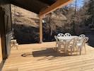 Vue de la nouvelle terrasse