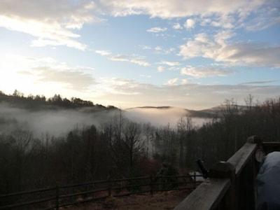 Daybreak at Rollin' N the Hay.