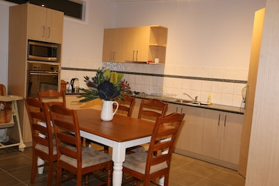 Spacious Kitchen fully equipped for all your culinary needs