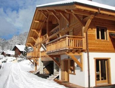Buqa - Un alpine design contemporain 'toute la saison' appartement dans le centre de Samoëns