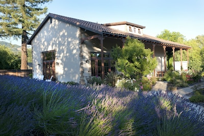 Hacienda Sonoma is gorgeous inside and out.