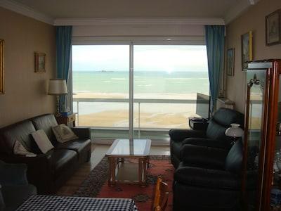 Living avec pleine vue mer