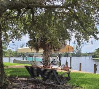 South Gulf Cove, Port Charlotte - Charlotte Harbor (und Umgebung), Florida, USA