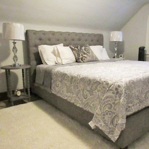 Upstair King size bed