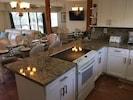 New Modern Kitchen W/All Granite Counter Tops