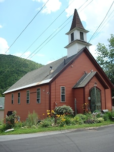 My little classic New England church!