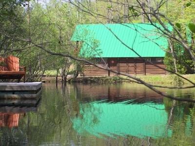 Chutes de High Shoals, Connellys Springs, Caroline du Nord, États-Unis d'Amérique