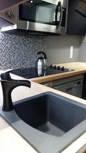 brand new kitchen appliances