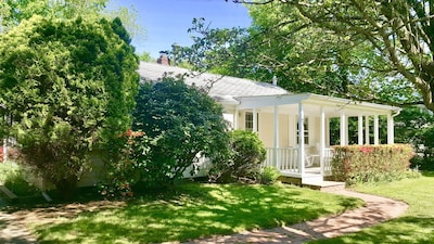 Superbly located within a short stroll to East Hampton Village center.