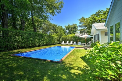 Complete privacy in the heart of East Hampton Village.